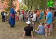 """ТВ """"СОЮЗ"""" Репортаж о лагере """"Ратная Застава"""" в 2012 г."""